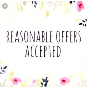 Make an offer that's reasonable